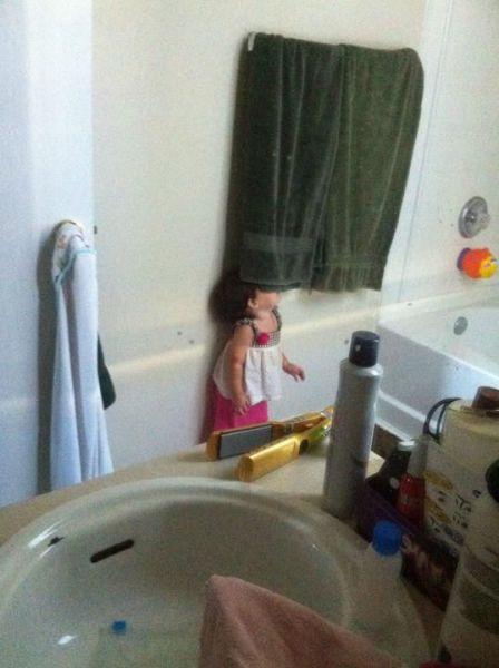 как прячутся дети фото
