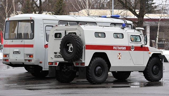 ИГ* взяло ответственность за нападение на базу Росгвардии в Чечне