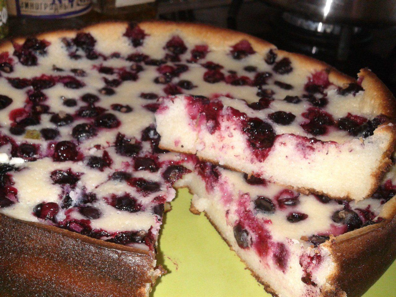 Простой рецепт фруктово-творожной запеканки - для ленивой хозяйки!