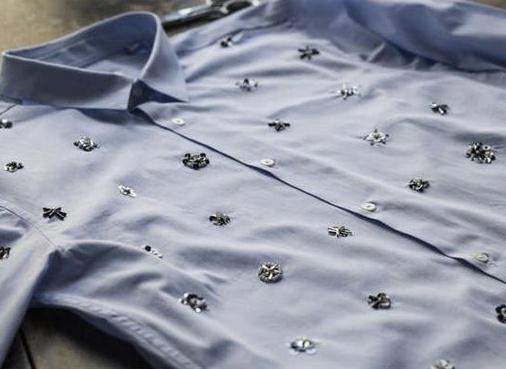 Блузка с нарядным декором (diy)
