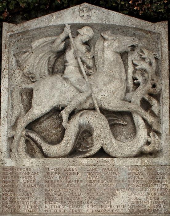Скандинавский герой Зигфрид убивает дракона. | Фото: vk.com.