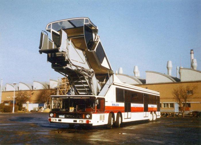 Ikarus 695 - уникальный автобус, который так и не пошел в серию история, факты