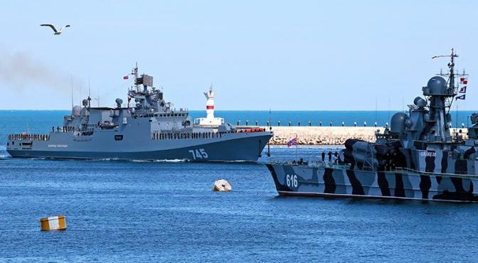 NI: Черное море стало русской крепостью