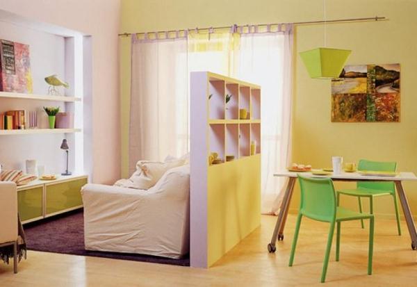 зонирование детской комнаты фото 12