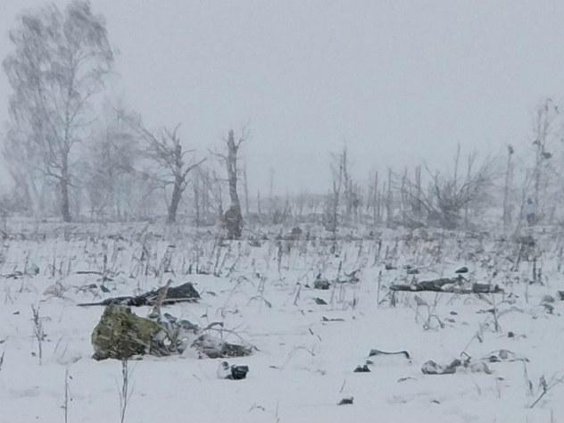 Спасатели не обнаружили рядом с местом крушения Ан-148 обломков вертолета