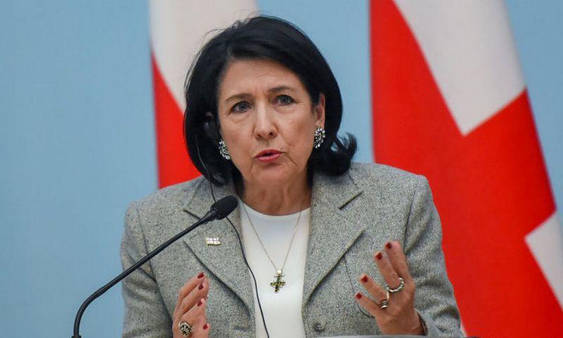 Президент Грузии отказалась …