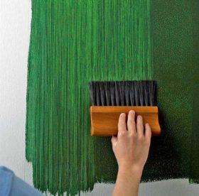 Как оригинально покрасить стены, какие цветовые оттенки выбрать