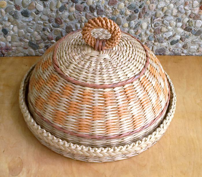 Хлебница из газетных трубочек мастер класс с пошаговым фото