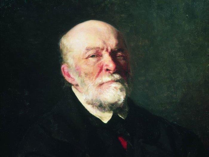 И. Е. Репин. Портрет хирурга Н. И. Пирогова, 1881. Фрагмент | Фото: gallerix.ru