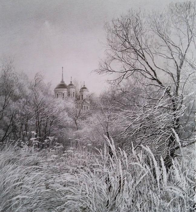 Тихая жизнь вещей... Художник Ольга Минкина