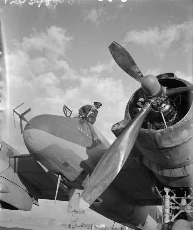 Bristol Beaufighter: первый истребитель с РЛС
