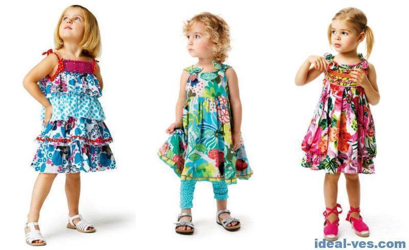 Девичья детская одежда