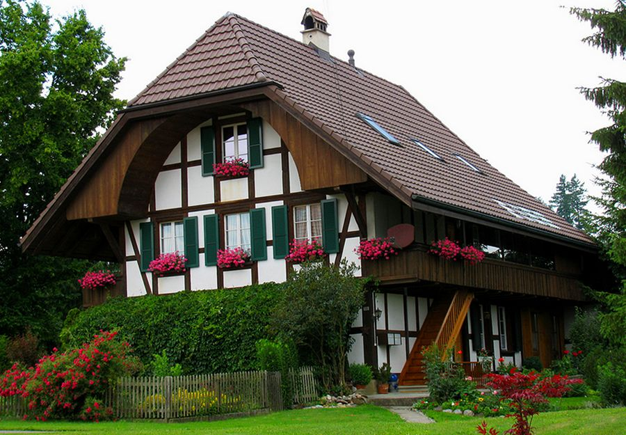 NewPix.ru - Красивые дома в Альпах