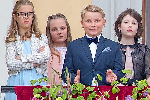 Норвежский принц Сверре Магнус