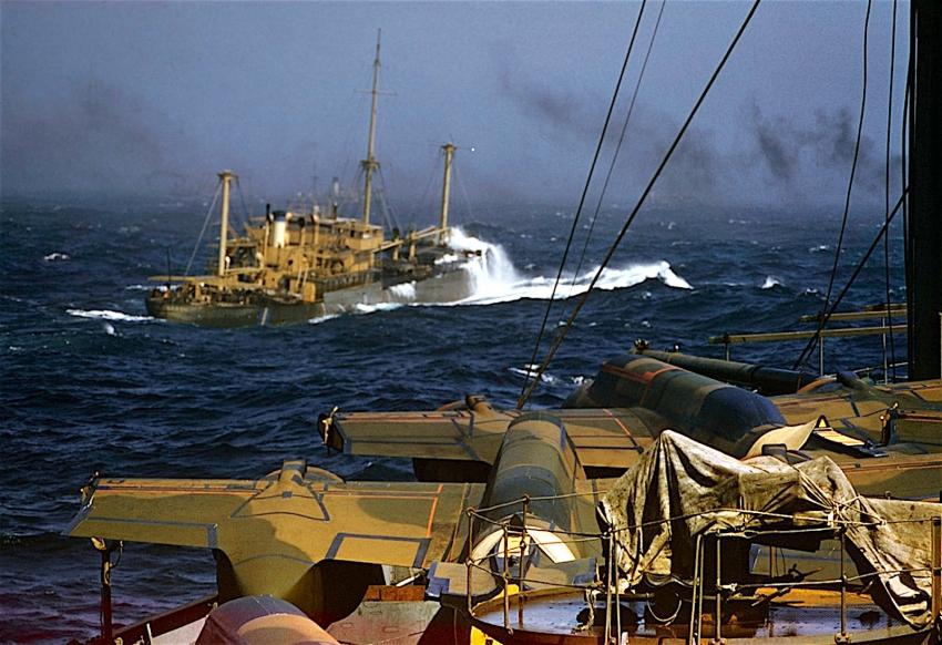 Атлантический конвой 1941г. в объективе Роберта Капы
