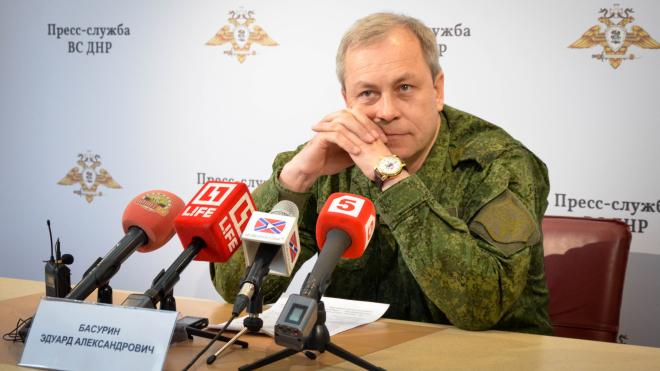 Басурин: командование ВСУ готовит провокацию в Донбассе