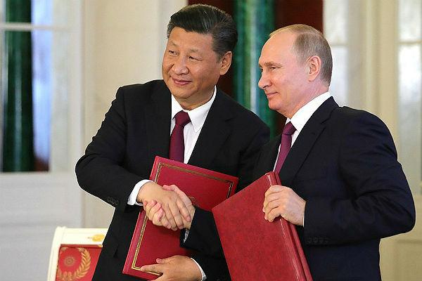 Россия и Китай опубликовали заявление об углублении партнерства