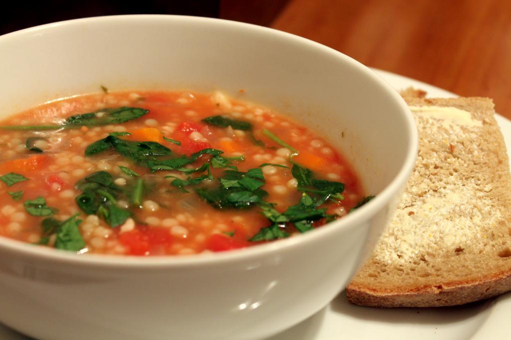 Суп с кускусом: вкусно и быстро