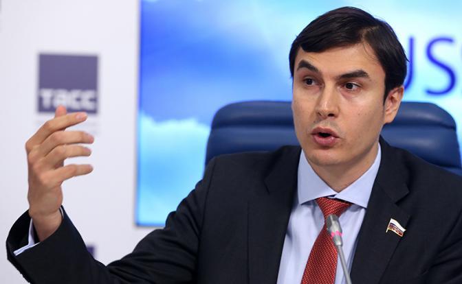 Депутат ГД РФ Сергей Шаргуно…