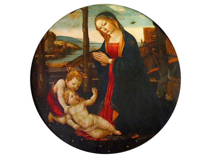 Мадонна Санкт-Джованнино. Доменико Гирландайо.