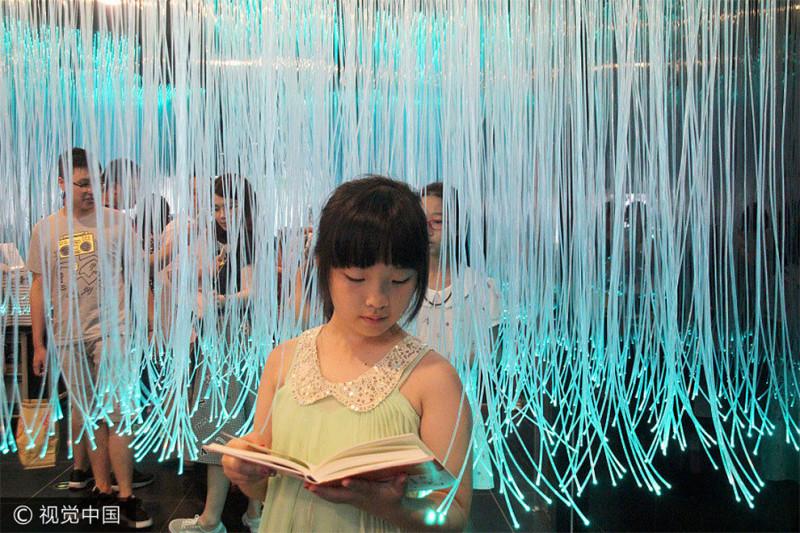 В Китае открылся книжный магазин будущего с фантастическим дизайном