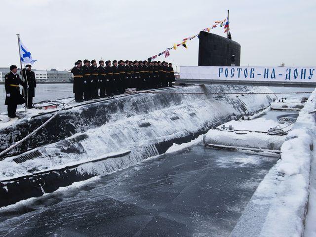 флаг россии подводную лодку