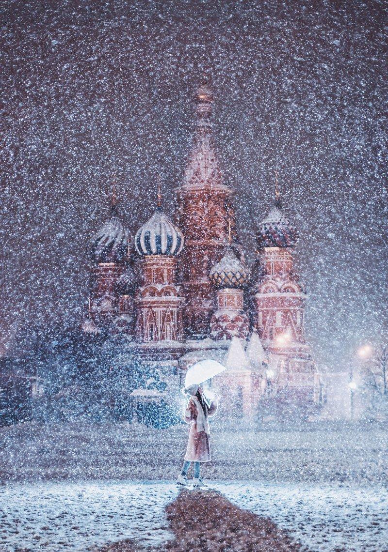 8. достопримечательность, зима, кристина макеева, москва, сказка, снег, фотография, фотомир