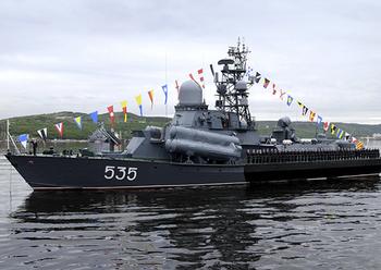 Корабли Тихоокеанского флота провели ракетные стрельбы в Японском море