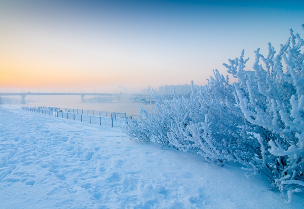 Потрясающие зимние фотографии