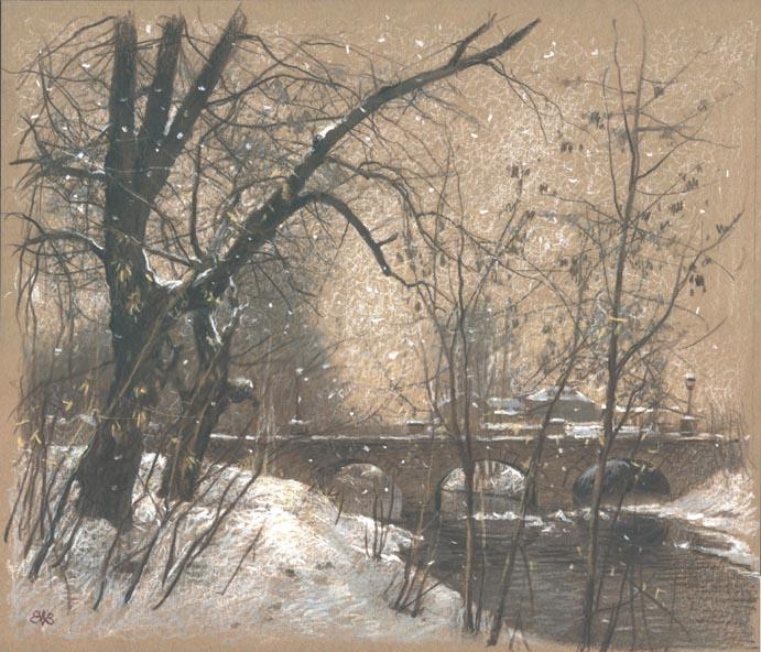 Ефремов Алексей. Зима