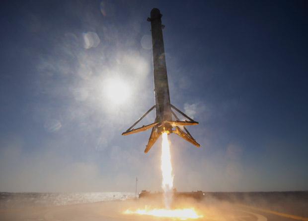 Первый повторный полет Falcon 9 состоится в марте