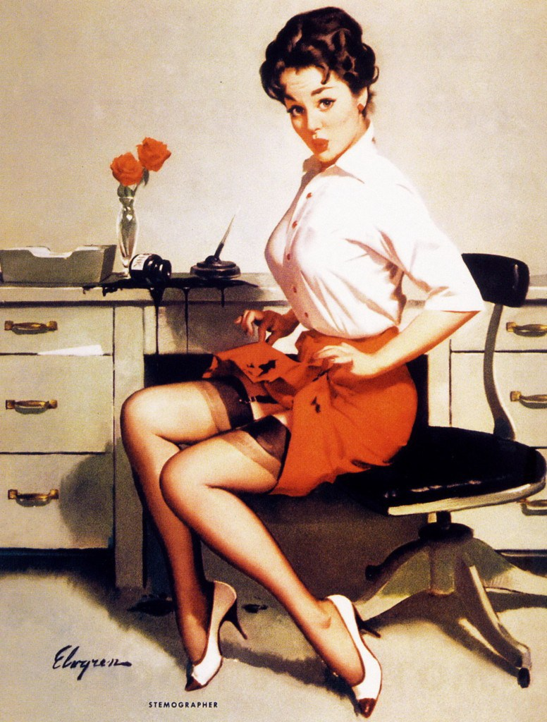 Коль секретарша очень хороша - барьер круша, добьется шеф удачи (Часть 1)