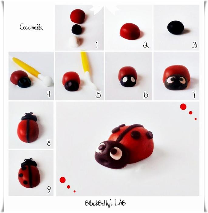 Лепим насекомых - 3 простых …
