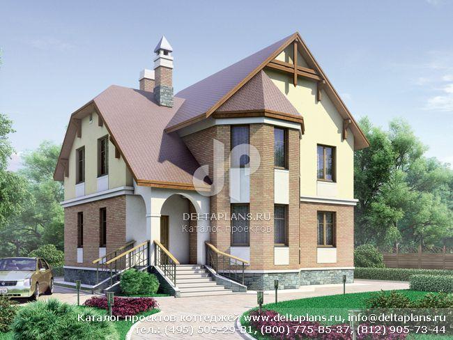 Проекты двухэтажных домов (стр. 16)