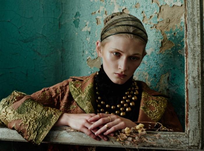 Модные работы от фотографа Елизаветы Породиной (Elizaveta Porodina).