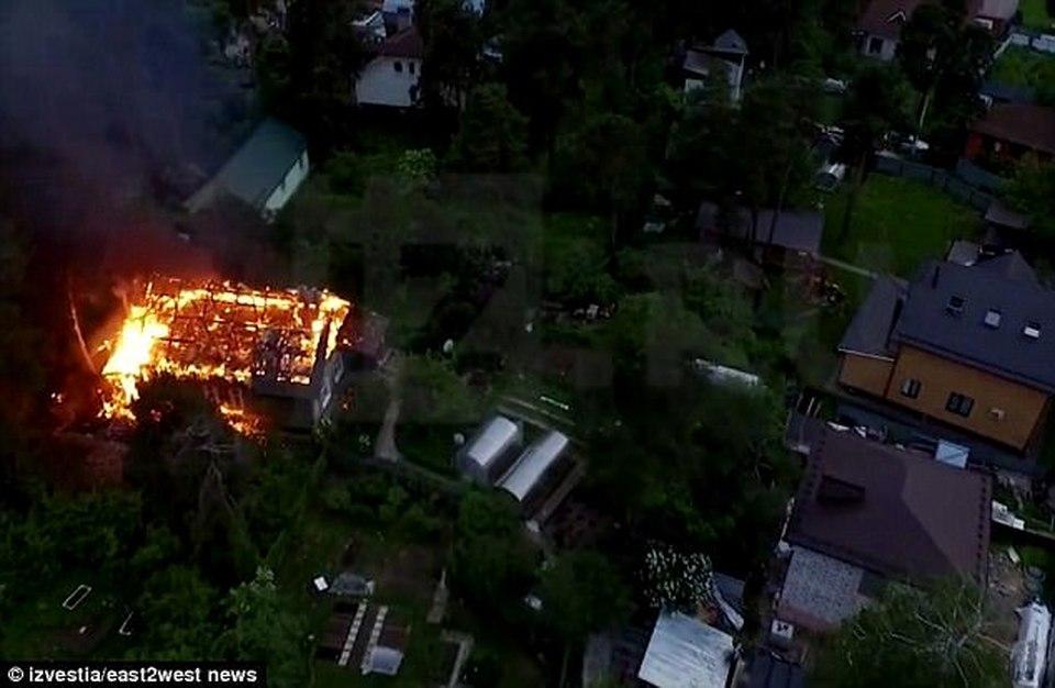 Кратовский стрелок сжег мать вместе с домом