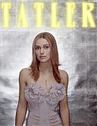 Кира Найтли (Keira Knightley) в фотосессии Дональда Макферсона (Donald McPherson) для журнала Tatler (июль 2003).