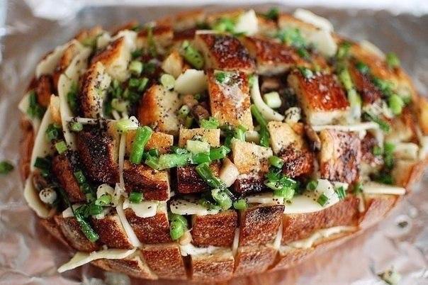 Итальянский хлеб Проволоне – быстрая и вкусная закуска для большой компании!
