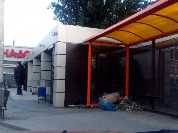 Остановка на улице Таганрогской в Ростове приведена в порядок – «Благоустройство города» получило «пятерку»