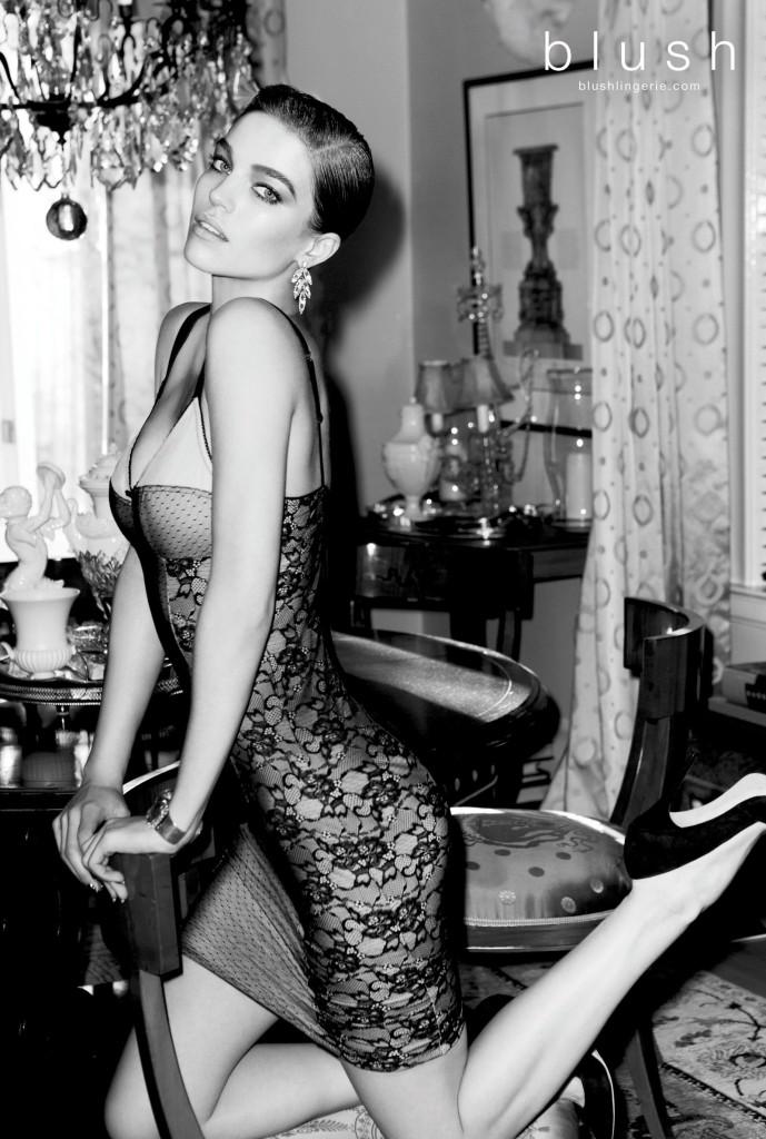Грациозная Саманта Градовилль  в фотосессии для Blush