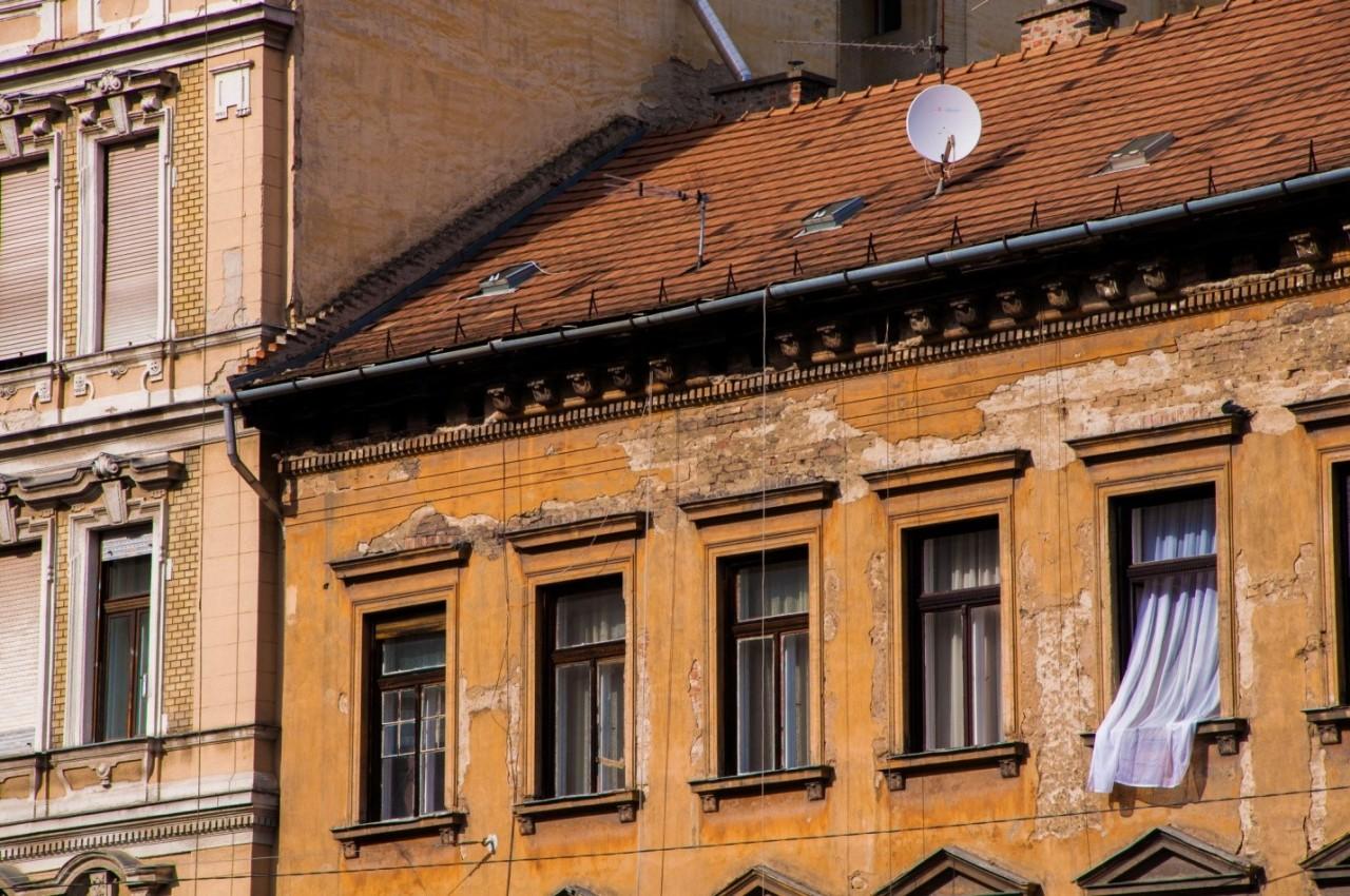 Старое здание в Будапеште