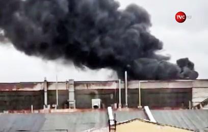 Пожару на Кировском заводе в Петербурге присвоен третий ранг сложности