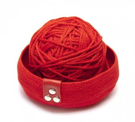 Корзина из шнура: мастер класс по шитью