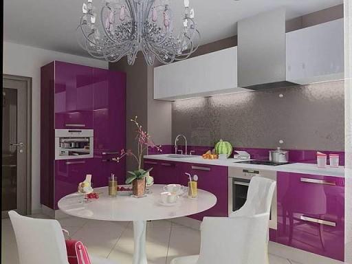 Психология фиолетового цвета в интерьере