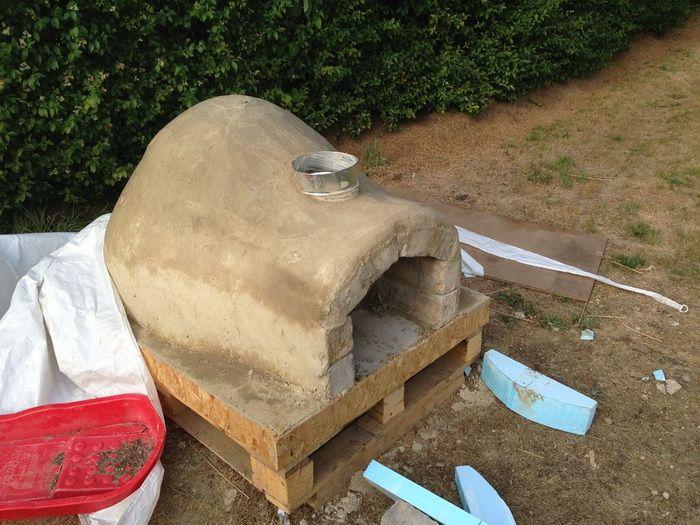 Помпейская печь своими руками из глины