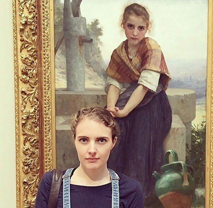 Двойник из музея: пользователи Reddit делятся картинами, похожими на них - фотогалерея