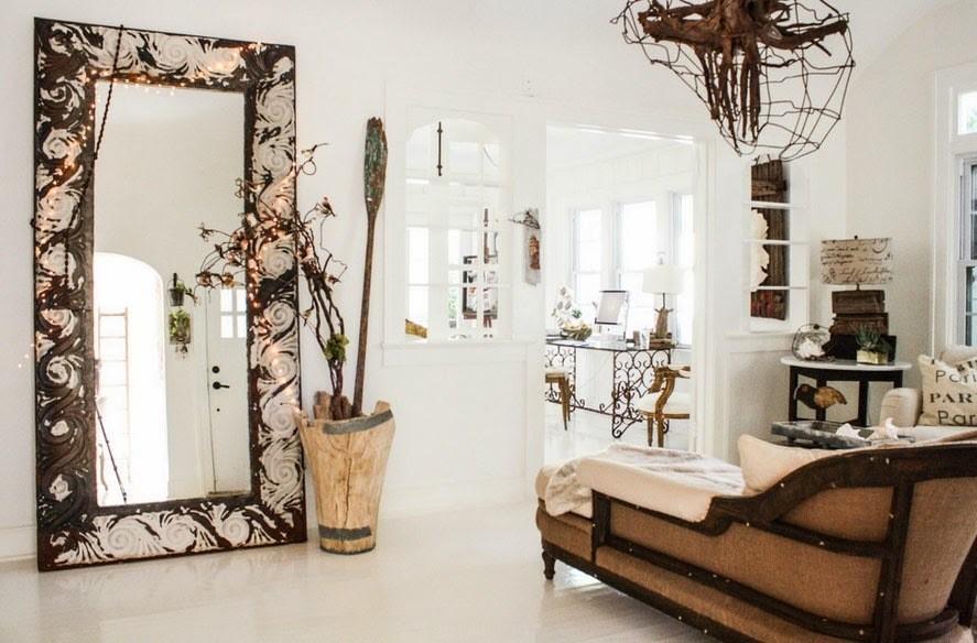 10 способов декорировать дом с помощью зеркал