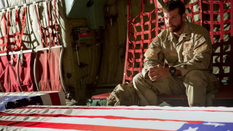 First look at Bradley Cooper in Clint Eastwood's American Sniper