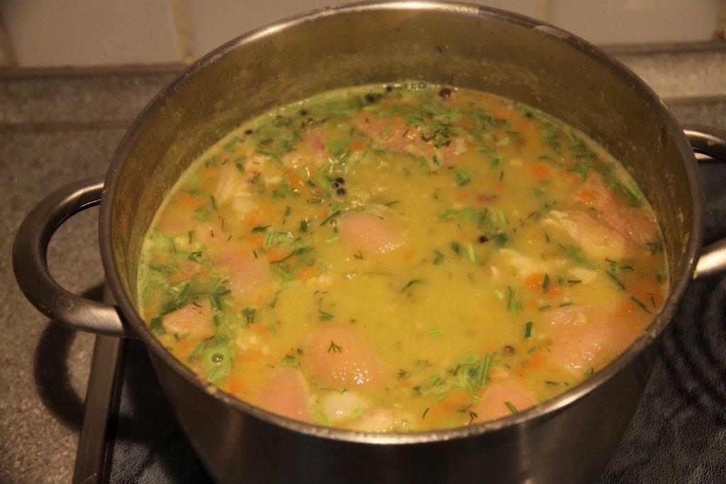 Вкуснейший гороховый суп по-голландски
