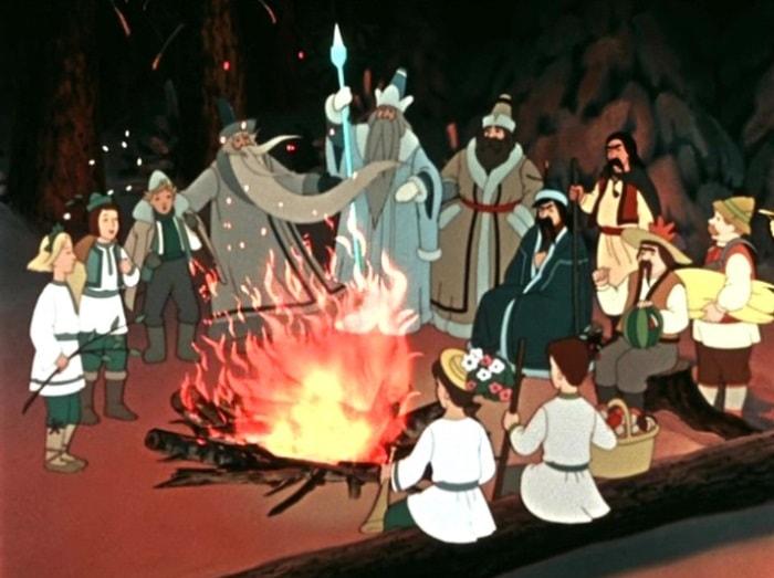 Как расцвели подснежники под Новый год во время ВОВ: несказочная история сказки «Двенадцать месяцев»